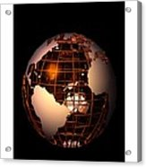 Bronze Globe... Acrylic Print