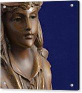 Bronze Lady Acrylic Print