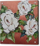 Bronze Magnolia Acrylic Print