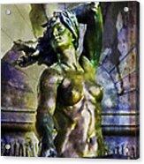 Bronze Nude Acrylic Print