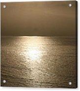 Bronze Ocean Acrylic Print
