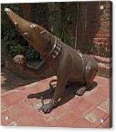 Bronze Statue Acrylic Print