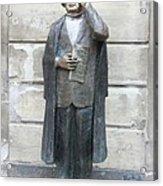 Bronze Statue Stockholm - Evert Taube Acrylic Print