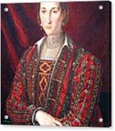 Bronzino's Eleonora Di Toledo Acrylic Print