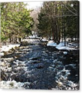 Brook In The Spring Acrylic Print