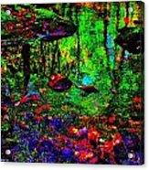 Brook Texture Z 5 Acrylic Print