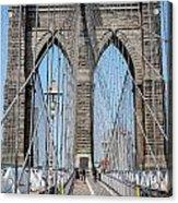 Brooklin Bridge Acrylic Print
