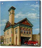 Brookline Historical Engine House Acrylic Print