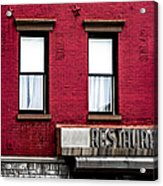Brooklyn Bar Acrylic Print