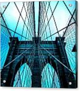 Brooklyn Blues Acrylic Print