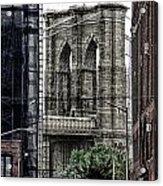 Brooklyn Bridge 7 Acrylic Print
