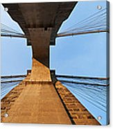 Brooklyn Bridge Abstract Acrylic Print
