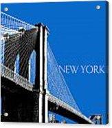 Brooklyn Bridge Acrylic Print by DB Artist