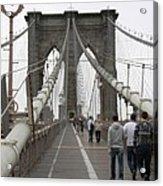 Brooklyn Bridge II Acrylic Print