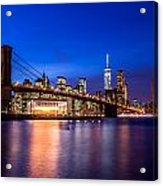 Brooklyn Bridge Acrylic Print