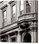 Brooklyn Heights -  N Y C - Classic Building And Bike Acrylic Print