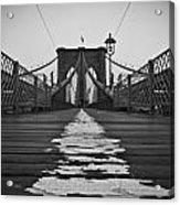 Brooklyn Lines Acrylic Print by Michael Murphy