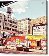 Brooklyn - New York City - Williamsburg Acrylic Print