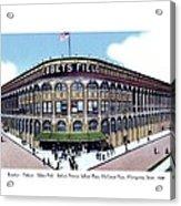 Brooklyn - New York - Flatbush - Ebbets Field - 1928 Acrylic Print