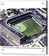 Brooklyn - New York - Flatbush - Ebbets Field - 1940 Acrylic Print