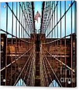 Brooklyn Perspective Acrylic Print by Az Jackson