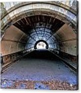 Brooklyn Prospect Park Tunnel Acrylic Print