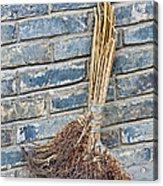 Broom, China Acrylic Print