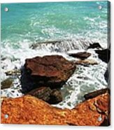 Broome Breaks Acrylic Print
