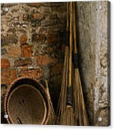 Brooms   #0112 Acrylic Print