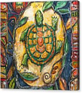 Brother Turtle Vi Acrylic Print