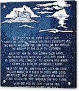 Brotherhood Of The Sea Acrylic Print