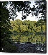 Brother's Fishin' Hole 20140719 Acrylic Print