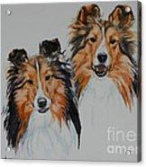 Brothers Acrylic Print