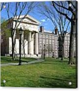 Brown Campus Manning Hall Acrylic Print