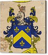 Brown Coat Of Arms - England Acrylic Print