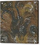 Brown Color Of Energy Acrylic Print by Ania Milo