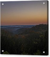 Brown County State Park Nashville Indiana Sunrise Acrylic Print