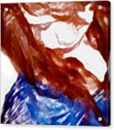 Brown Eyed Girl Acrylic Print