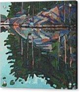 Brown Island Greens Acrylic Print