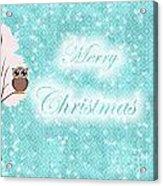 Christmas Card 7 Acrylic Print
