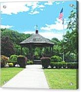 Brown Park Acrylic Print