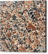 Brown Red Granite  Acrylic Print