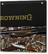 Browning Bps Shotgun  Acrylic Print