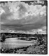 Brownsmead Panorama Acrylic Print