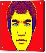 Bruce Lee Alias Acrylic Print