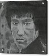 Bruce Lee Acrylic Print by Terence Leano