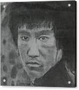 Bruce Lee Acrylic Print