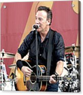 Bruce Springsteen 12 Acrylic Print