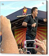 Bruce Springsteen 15 Acrylic Print