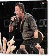 Musician Bruce Springsteen Acrylic Print